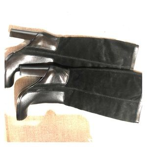 Nine West leather & suede boots!